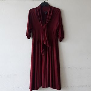 Maroon dress in great condition